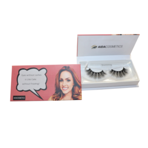 Amberly Individual Styles Box | Aida - Natural Vegan Faux Mink Lashes