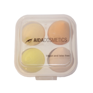 Aida Face Beat Blenders (4-Pcs Pack) | Makeup Beauty Blender Sponge