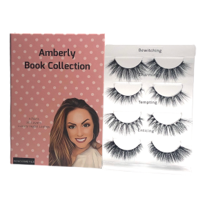 Shop Faux Mink Lashes | Aida Cosmetics - Amberly Book Collection